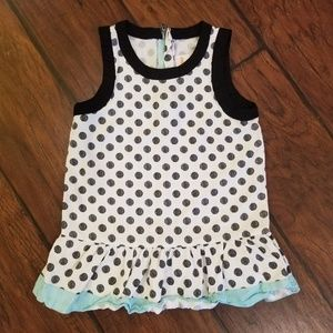 Gymboree polka dot top